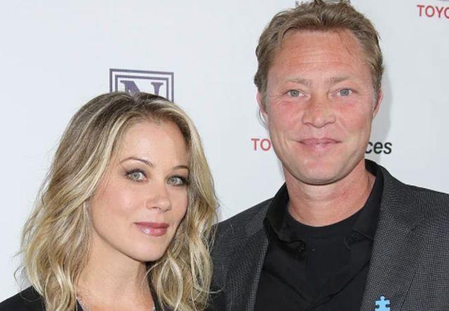 Christina Applegate with her husband Martyn LeNoble