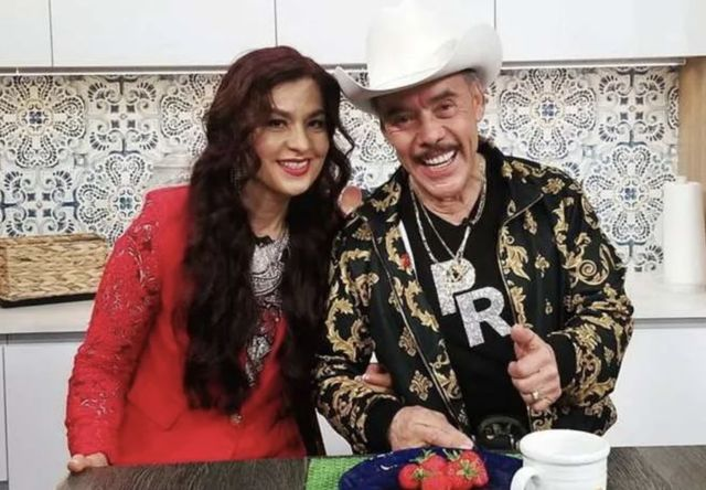 Juana Ahumada and husband Pedro Rivera