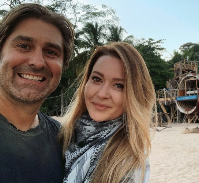 Tory Belleci with his wife Erin Bothamley